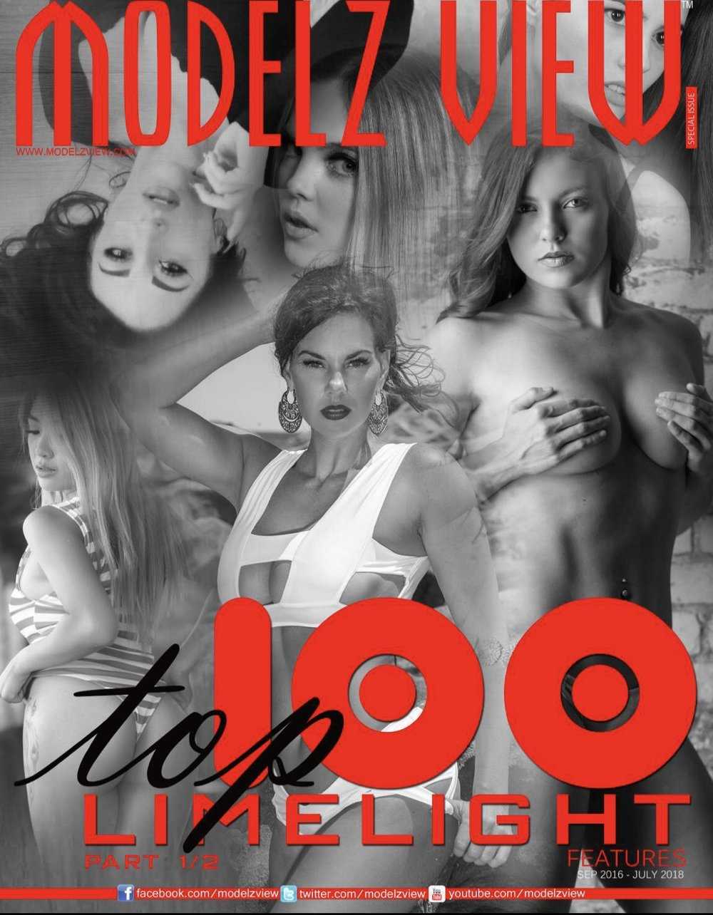 WORLD'S TOP 100 LIMELIGHT MODELS - Special Edition Pt. 1/2 JAN 2018Feature Model - Lucinka TomanovaPhotographer - David Fillion Productionshttp://www.magcloud.com/browse/issue/1511706