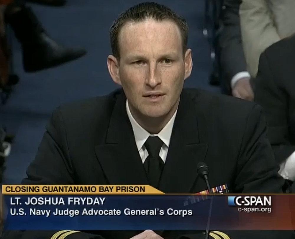 Guantanamo Testimony, U.S. Senate