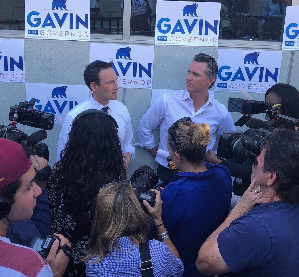 Service Announcement, Gavin Newsom