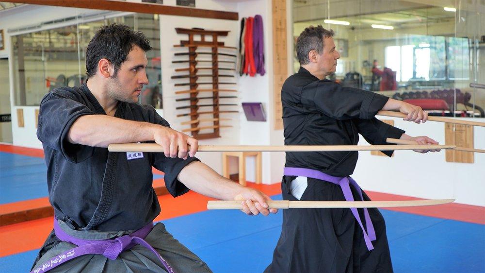 Mehr als Schwertkampfkunst - Lerne Dich zu fokussieren, schalte ab vom Alltag!Samurai-Schwertkampfkünste: Iaijutsu, Kenjutsu, Nito Ryu