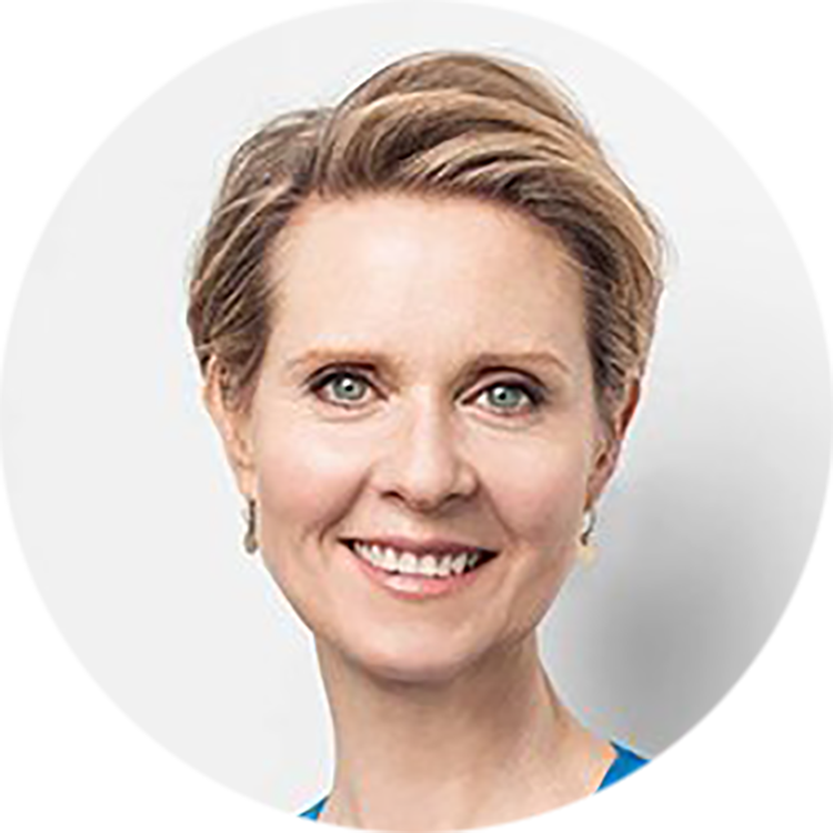 Activist and Actor - Cynthia Nixon