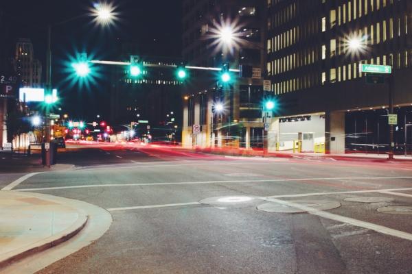 panhandling intersection kansas city pedestrian