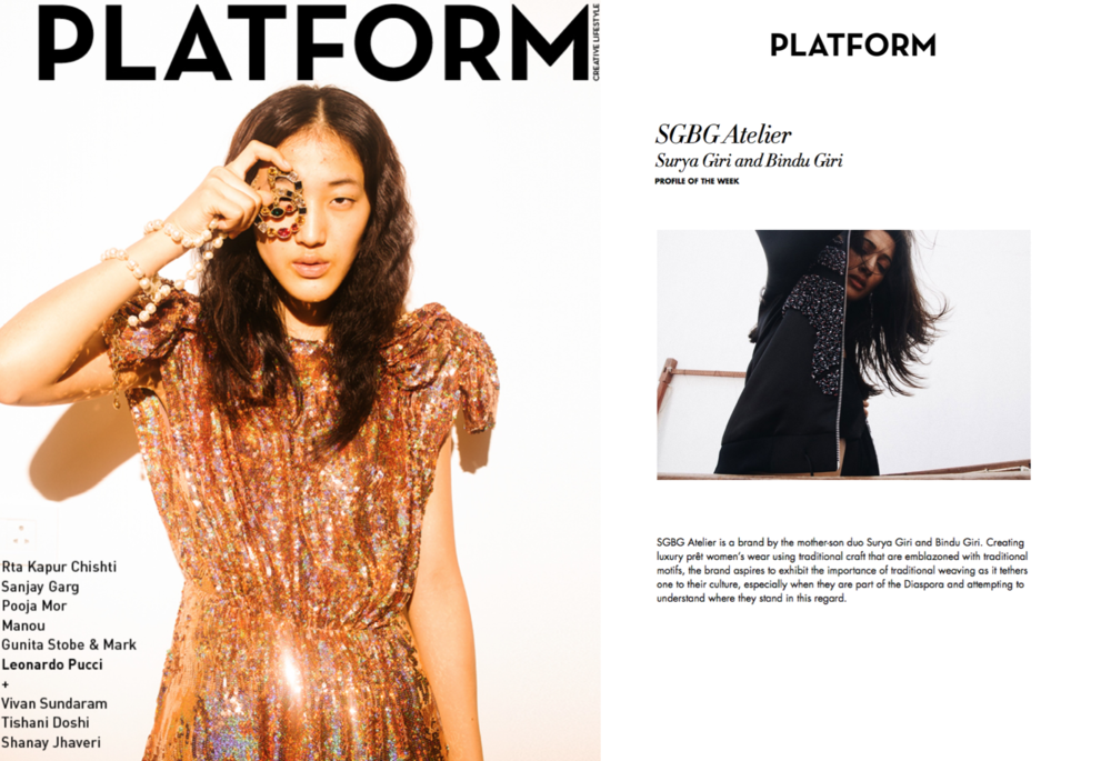 PLATFORM Magazine FEATURE // Profile of the Week