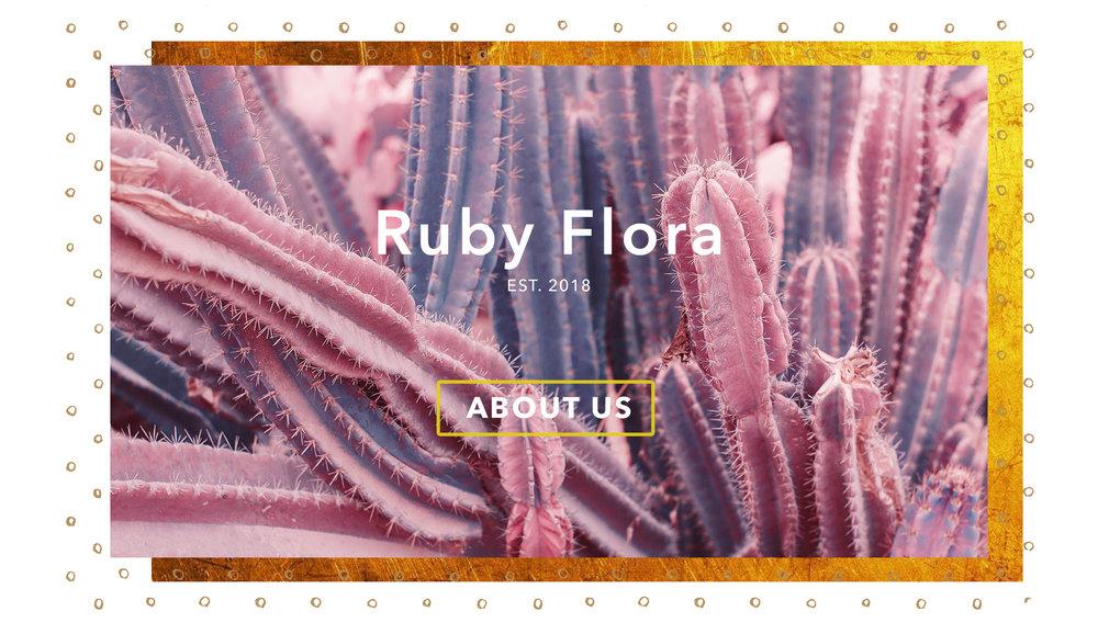 Ruby Flora Homepage