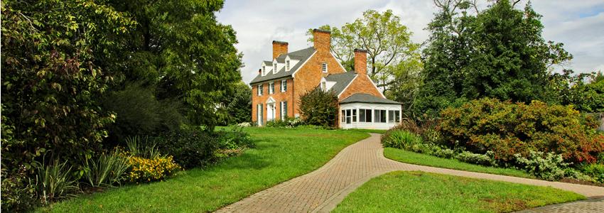 Green Springs Historic House, Fairfax, VA, 1784, www.fairfaxcounty.gov/parks/green-spring