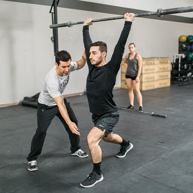 ⠀⠀⠀⠀⠀⠀⠀⠀⠀ Movement Quality ⠀⠀⠀⠀⠀⠀⠀⠀⠀ Master the fundamentals of your movement to ensure the safety and efficiency of your workouts. ⠀⠀⠀⠀⠀⠀⠀⠀⠀ Plus flawless movement looks like art in motion and who doesn't want to look like the Michelangelo of movement ⠀⠀⠀⠀⠀⠀⠀⠀⠀ Right @shmosep 🏋🏻‍♂️😎 ⠀⠀⠀⠀⠀⠀⠀⠀⠀ #goodvibesonly #mindbodyperformance #performancecoach #playfullout #selfmastery #lasvegascrossfit #vegascrossfit #vegasfitness #lasvegasfitness #vegasfit #welovevegas #vegasfitfam #mindset #communityofchampions #getyourmindright