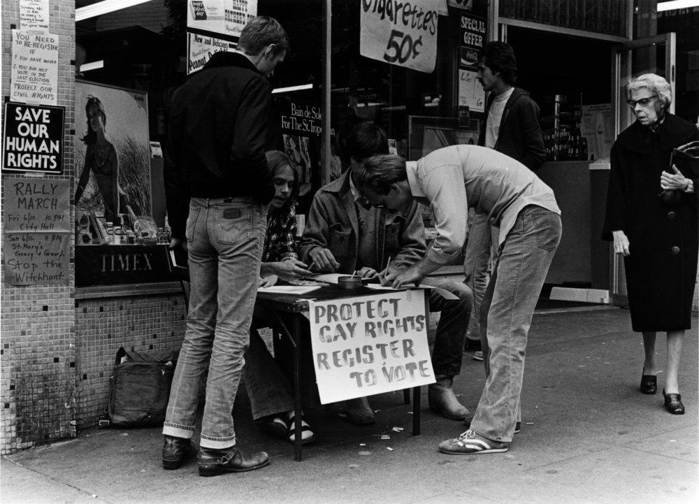 Photo: Marie Ueda, GLBT Historical Society