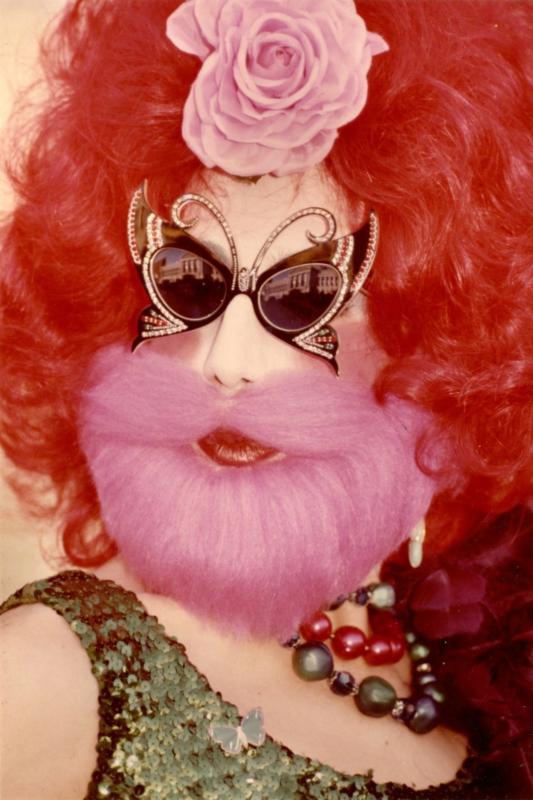 Roz Joseph, Ambi Sextrous (ca. 1976), vintage color print on Kodak paper, Roz Joseph Photographs (2010-08), GLBT Historical Society.