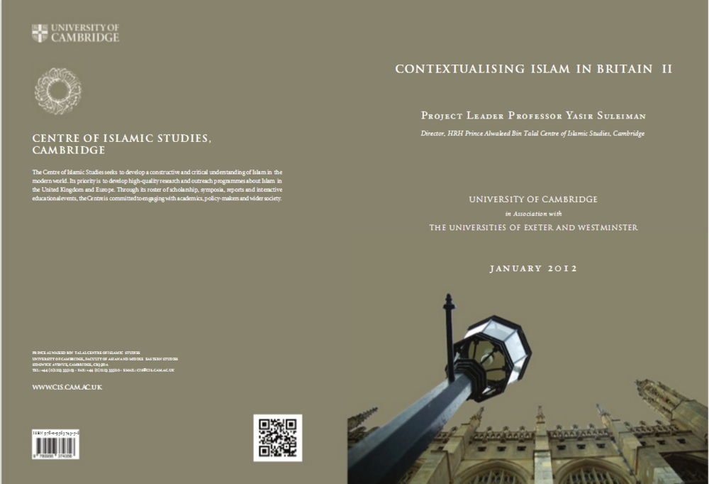 Contextualising Islam in Britain Report
