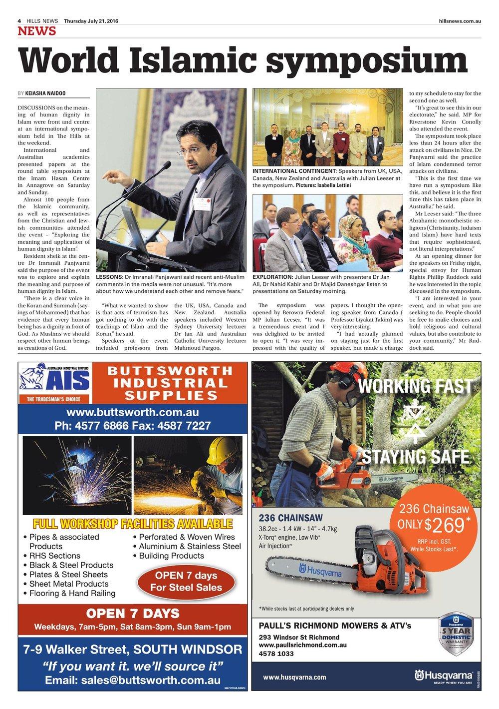 Hills News Page - World Islamic Symposium.jpg