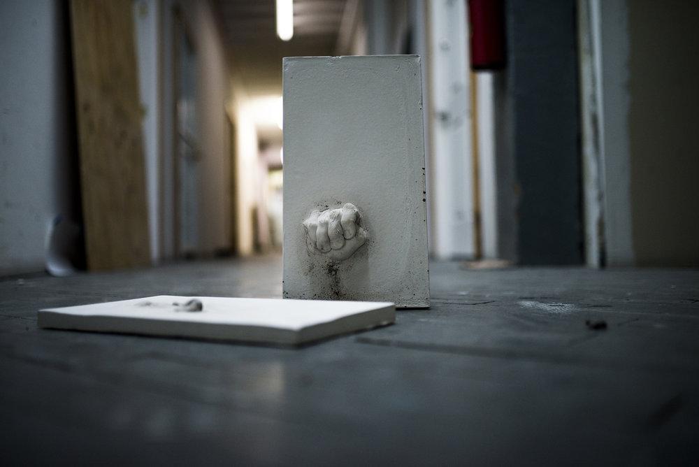 Wendy Richmond hand sculpture slabs