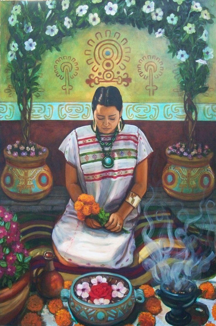 Photo: Blessing The Flowers By Ricardo Ortega