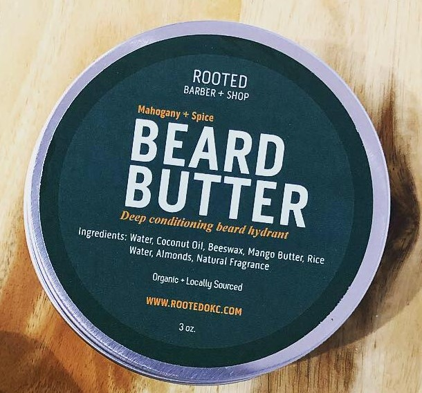 Mahogany + Spice Beard Butter — ROOTED BARBER + SHOP