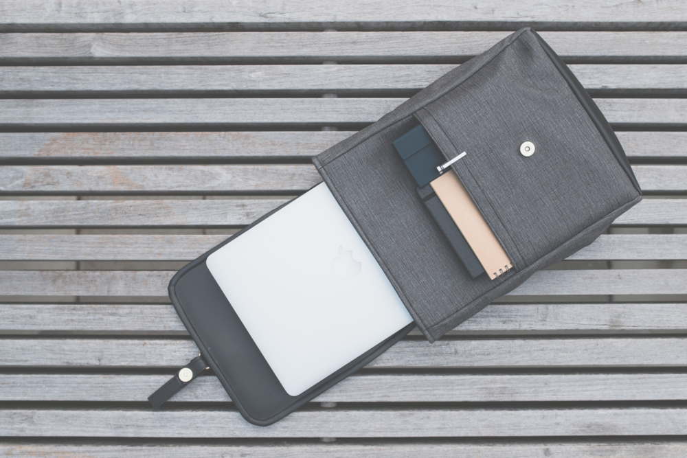 hear your laptop rejoice - Until we become cyborgs, you still have a laptop to carry.This is why we designed our bags to hold even the largest and heaviest laptops.