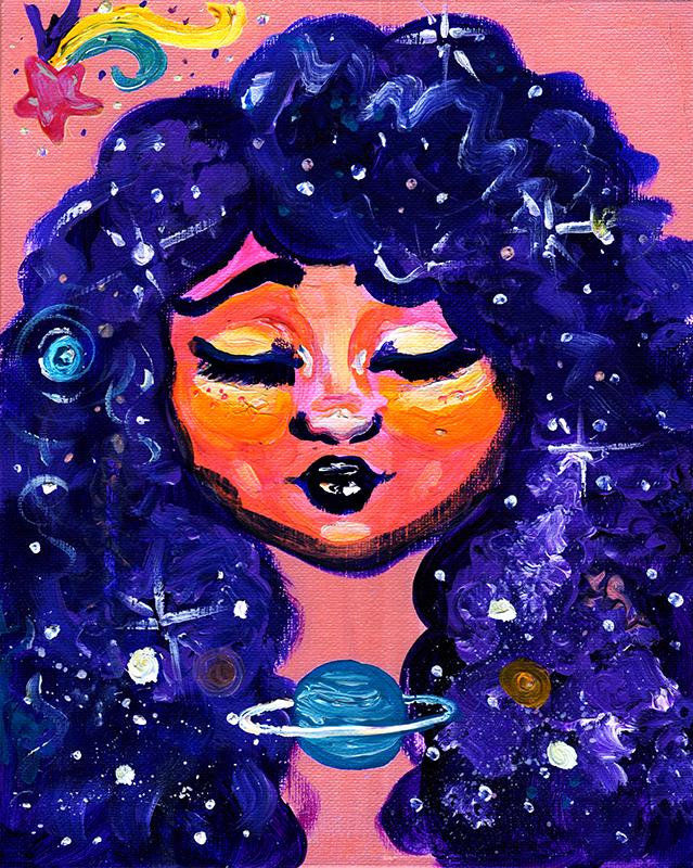 Galactic Curl