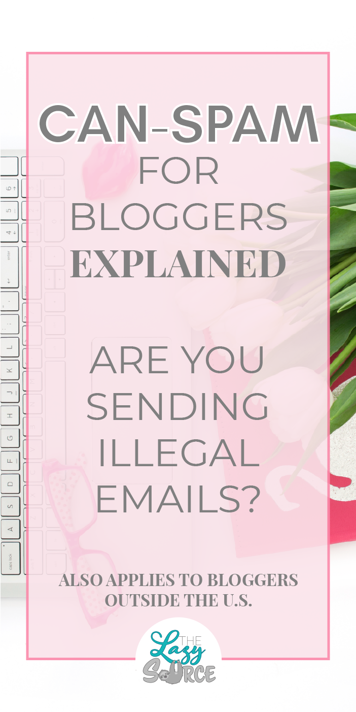CAN-SPAM for bloggers explained