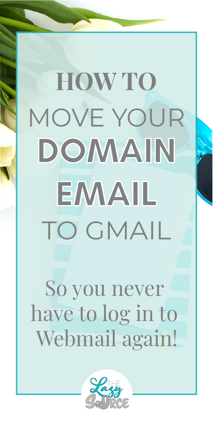 Unimpressed with your host's Webmail option for your domain email? Try this tutorial to send and receive mail from your address with Gmail instead! It's completely free and can be done in less than 10 minutes!