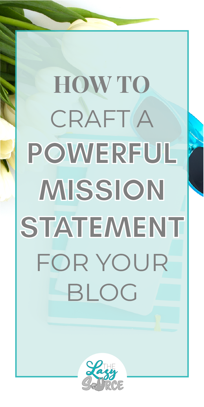 If you haven't written a mission statement for your blog yet, you have no idea what you're doing! You may think you have a plan, but it won't take long to skew your focus. Take a few minutes to craft a powerful mission statement that defines your business' purpose. Find focus and direction for your blog today!