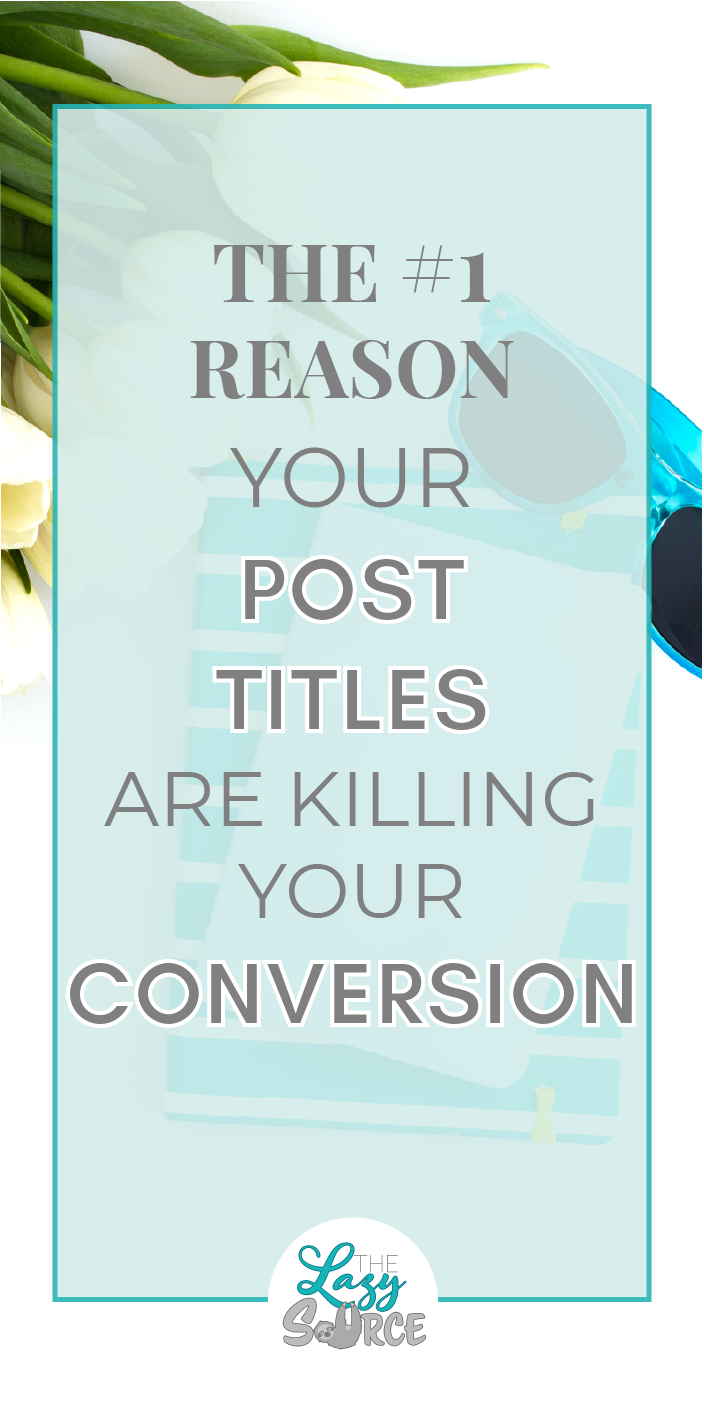 Post titles are powerful for reaching your audience and setting their expectations. But if you're missing this, your titles are doing more harm than good! Learn what it takes to impress the readers who click on your titles so you can convert them into loyal subscribers.