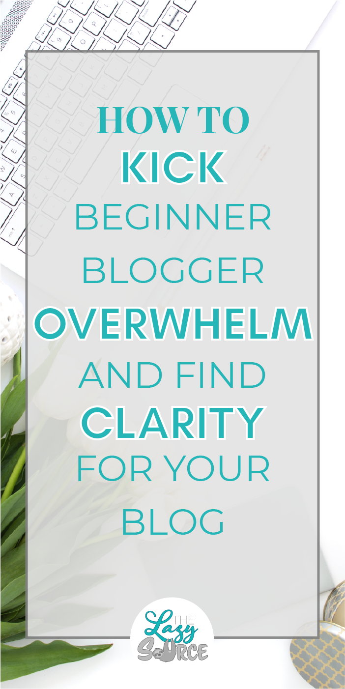 If you're a beginning blogger, I think it's safe to say that you've felt overwhelmed. You're overloaded with questions and too many answers. Learn the most actionable ways to conquer that overwhelm, find clarity, and start pursuing the purpose of your blog again.