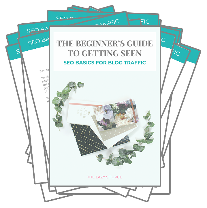 Thumbnail preview of The Beginner's Guide to Getting Seen: SEO Basics for Blog Traffic