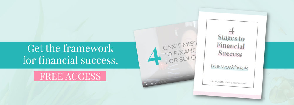 Get the framework for financial success