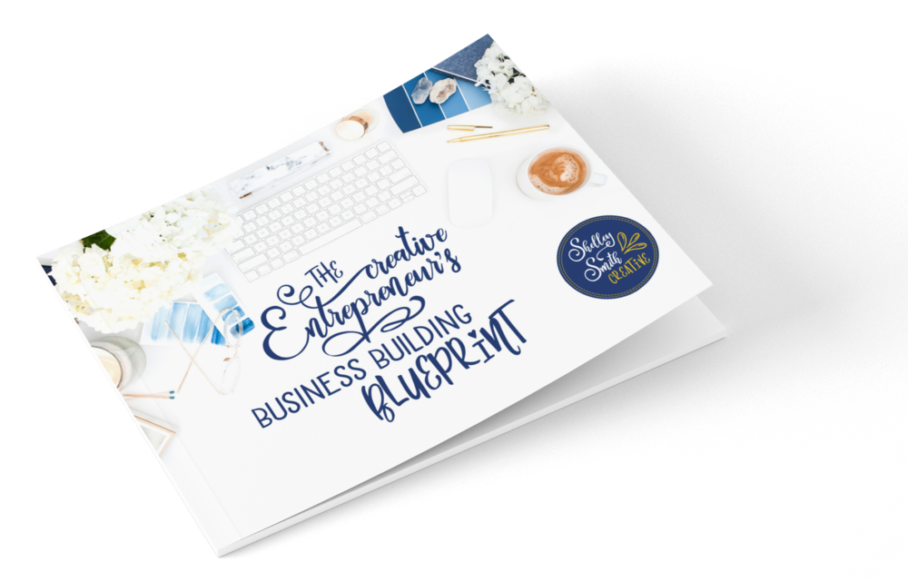 Get the blueprint - Get a free copy of The Creative Entrepreneur's Business Building Blueprint when you sign up to my email list. This is the exact framework I use when working with my website design clients.