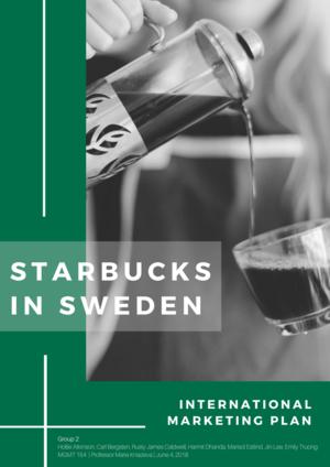 starbucks global marketing strategy