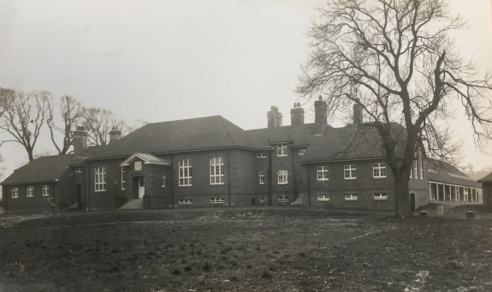 Photographs of the exterior of Stanmore School, Winchester by H W Salmon, Winchester c. 1928   Courtesy of Hampshire Archives
