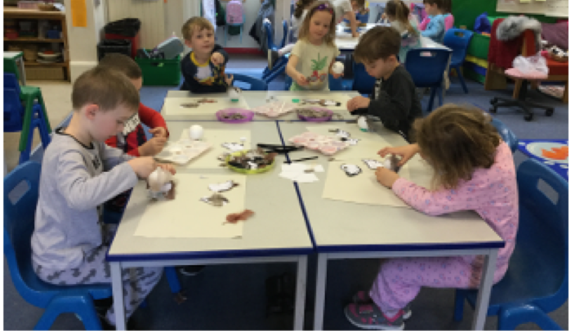 Creating feathered friends