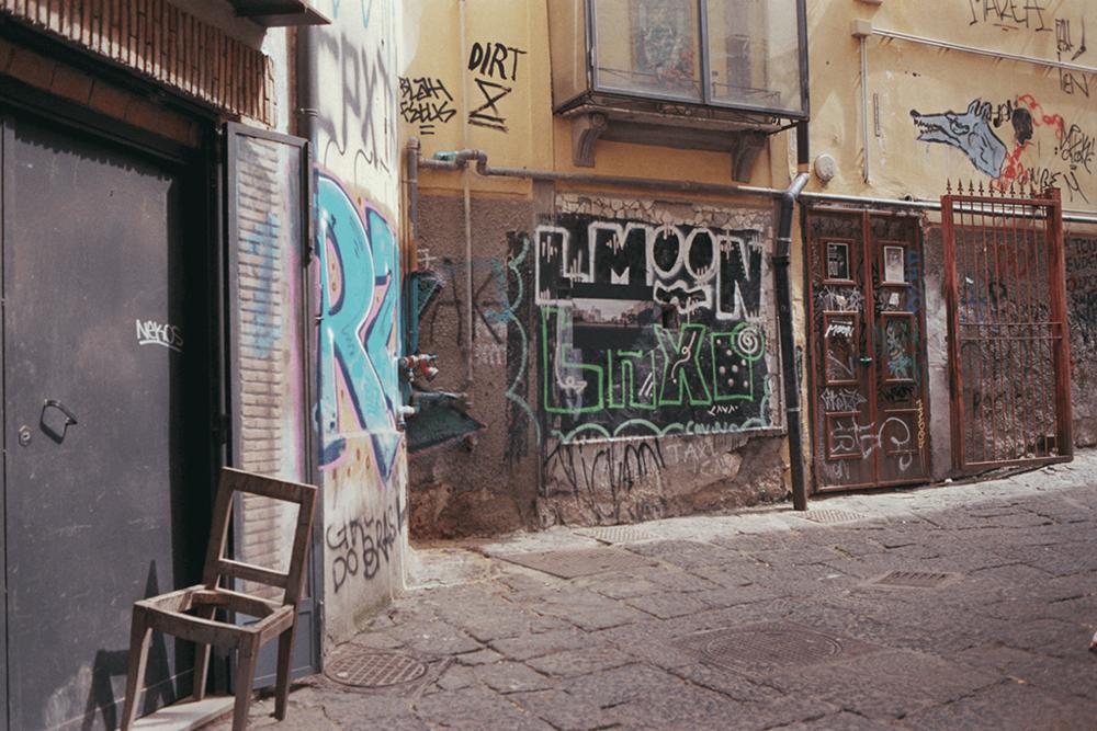Strangers in a Strange Land  in Napoli. 17.04.2018