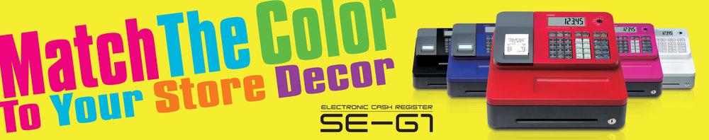 Casio SE-G1 Banner