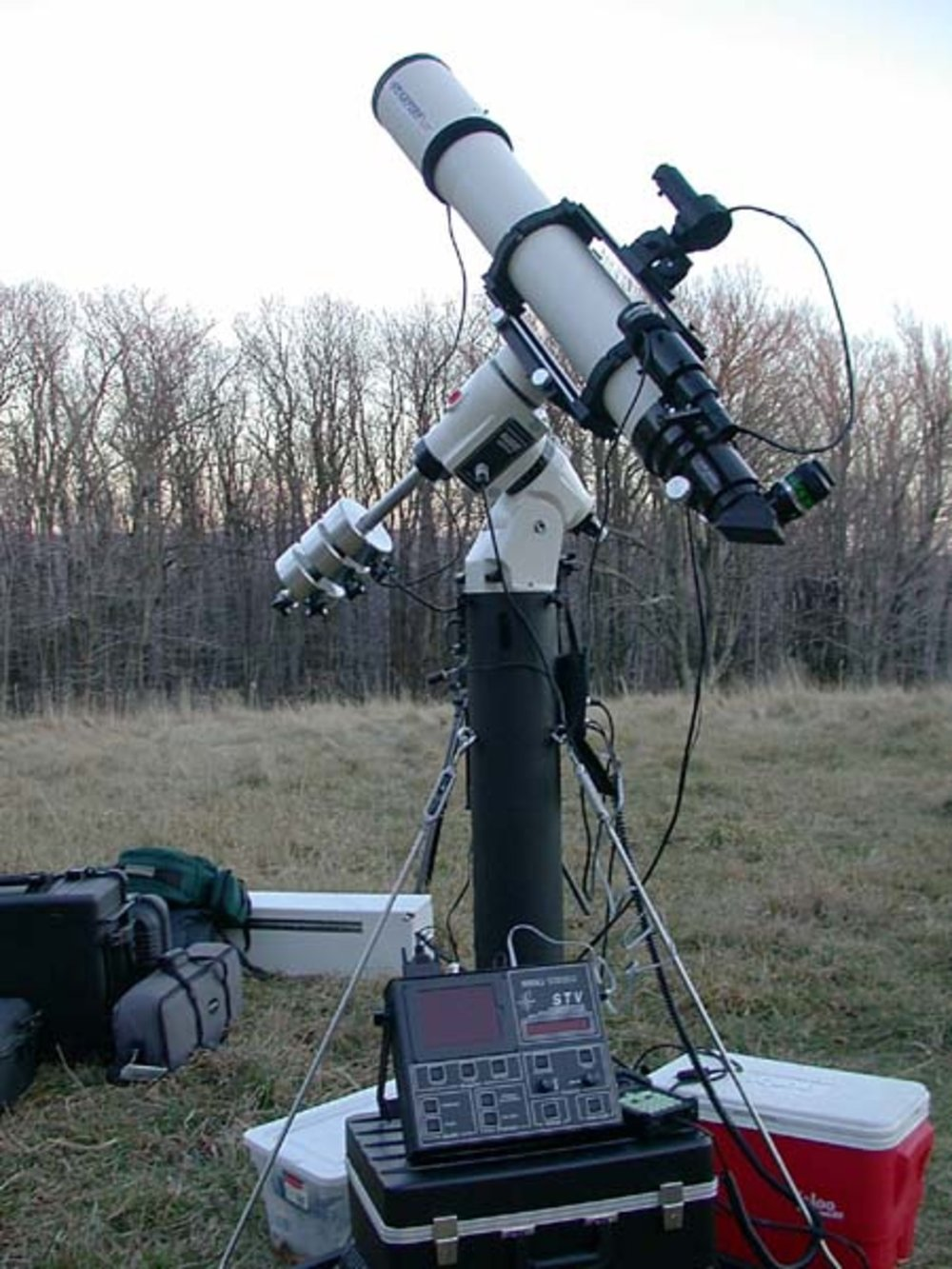 2001 Astrophotography setup on Spruce Knob