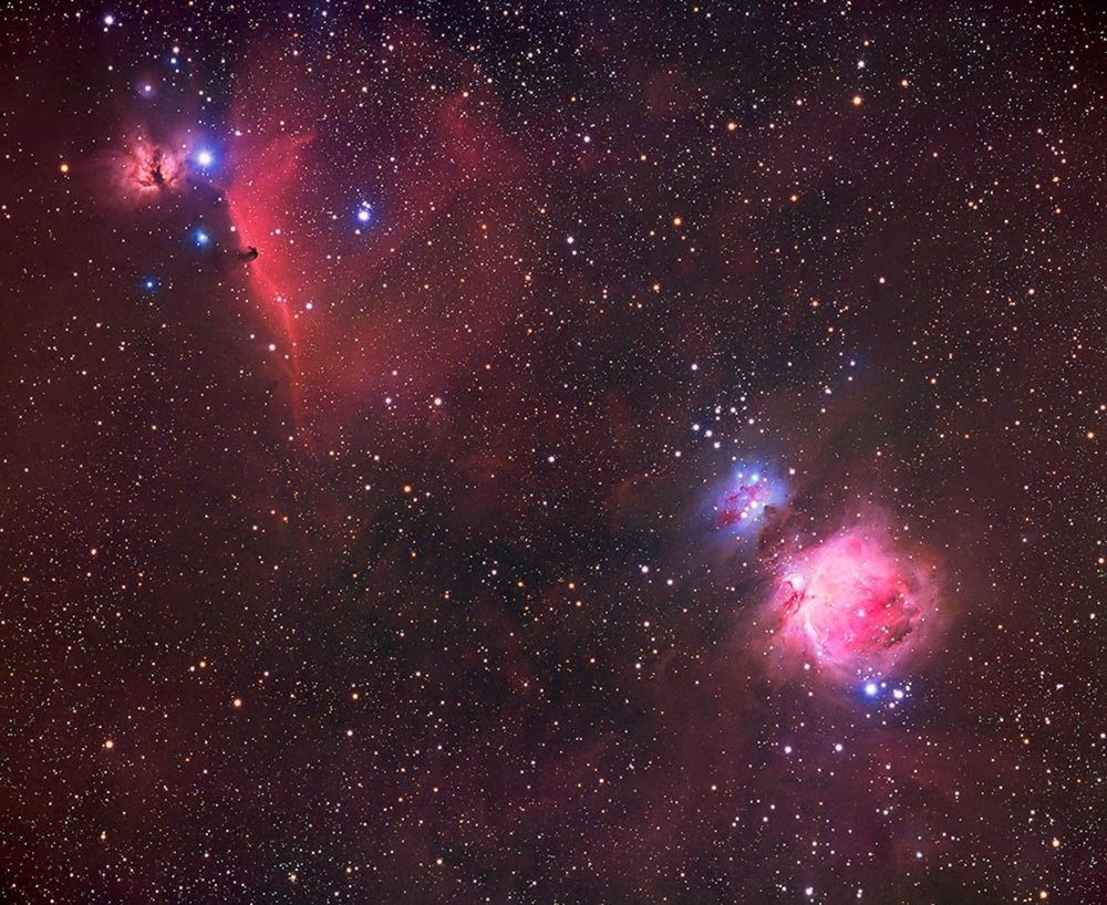The Great Orion and Horsehead Nebulae 2003