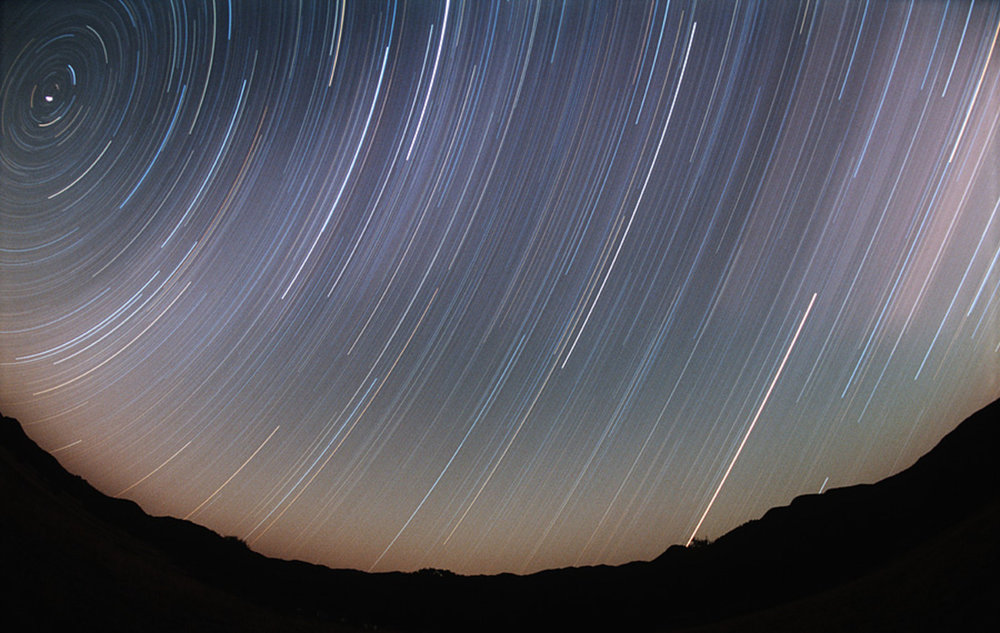 Chiricahua Star Trails 2003