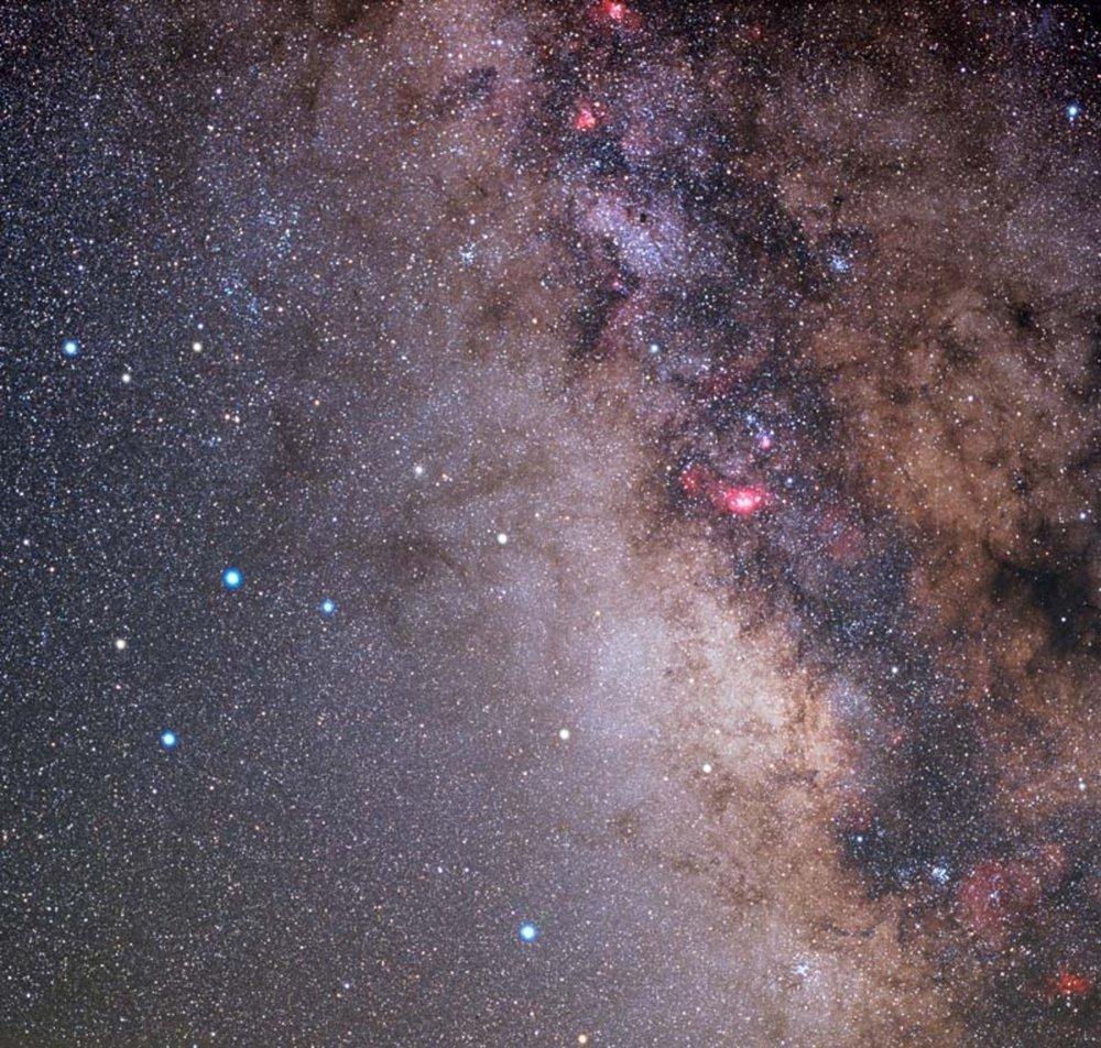 Sagittarius constellation New Mexico Skies 2003