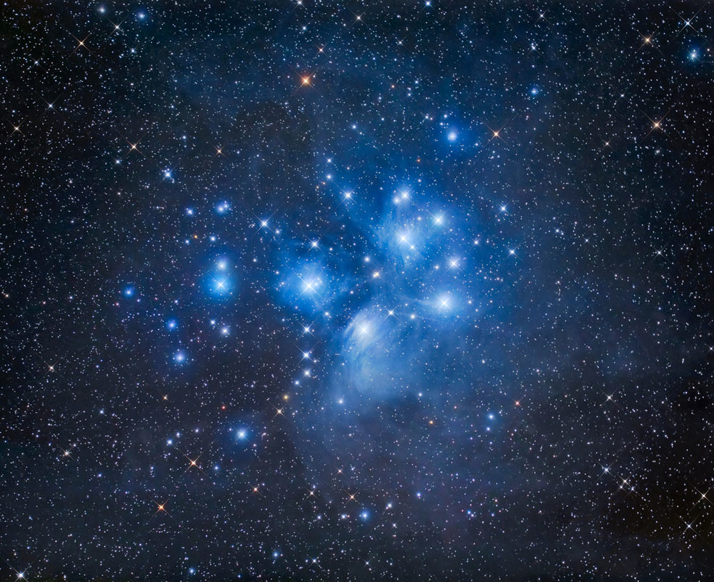 The Seven Sisters; Pleiades