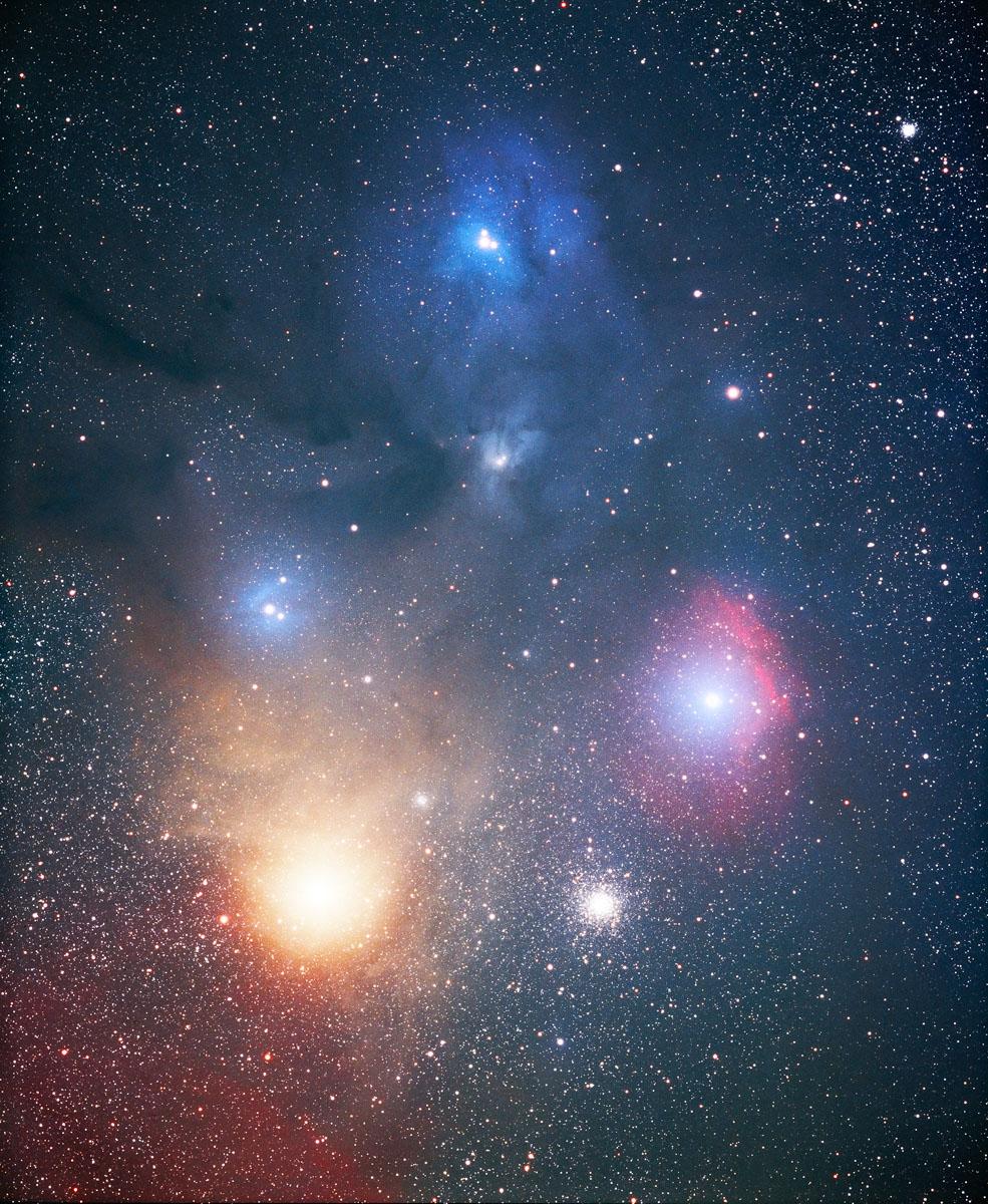 Rho Ophiuchus-Antares Region