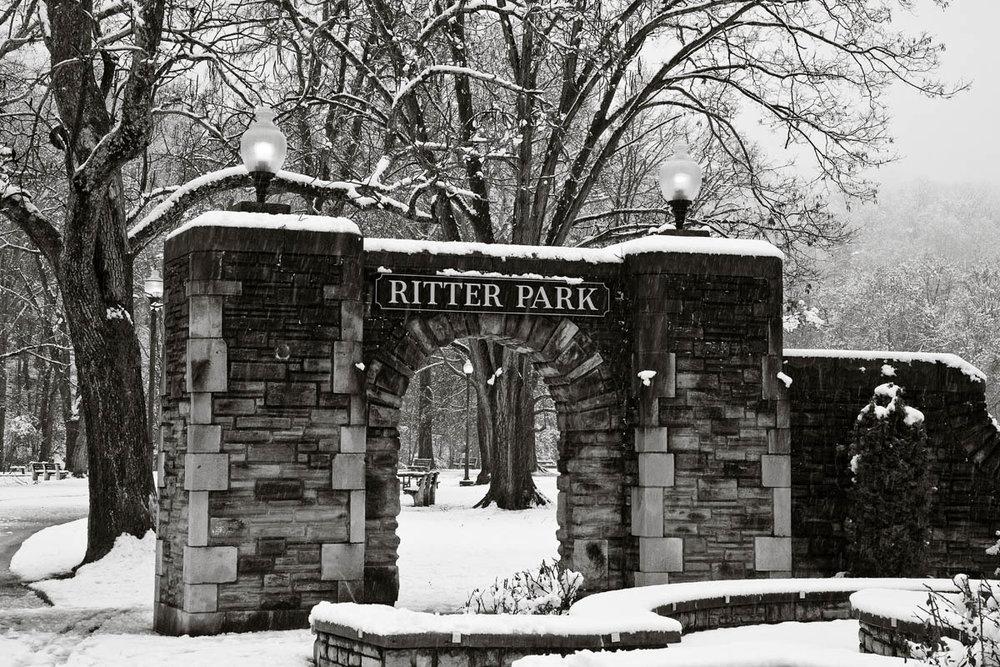 Ritter Park Entrance