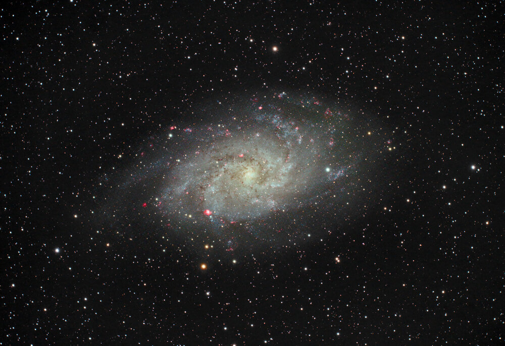 M33 from Blackwater Falls Astronomy Weekend 2017