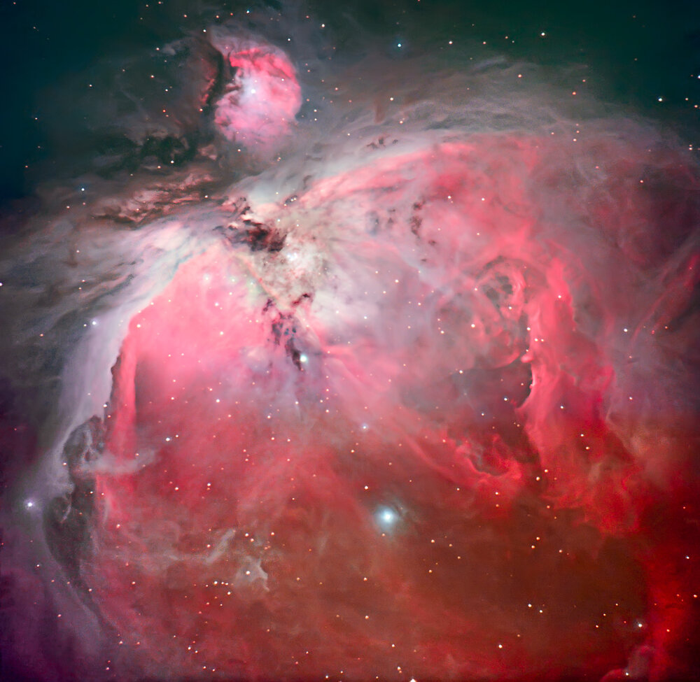 The Great Nebula of Orion