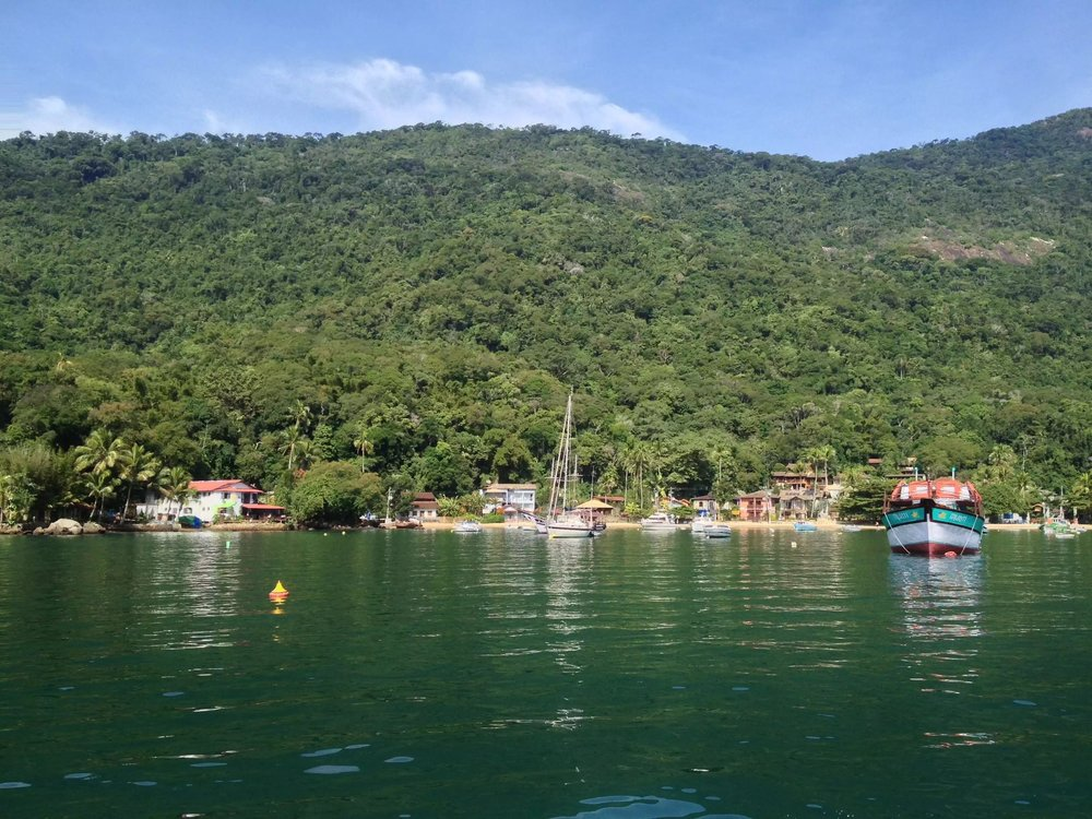 Your first view of Ilha Grande