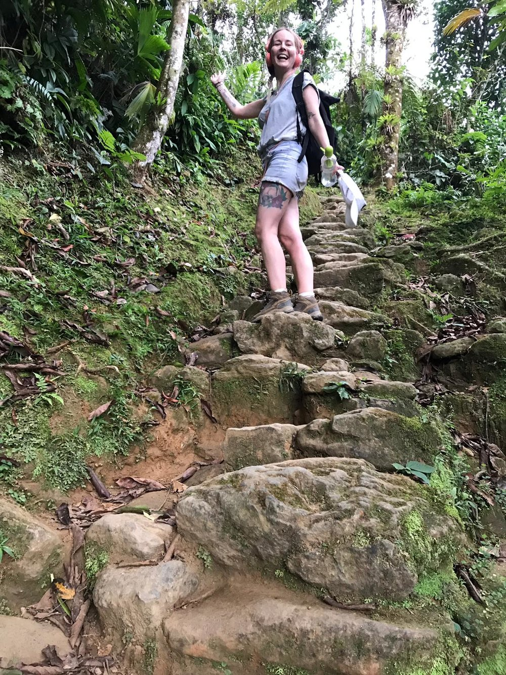 The last 1200 steps to the Lost City