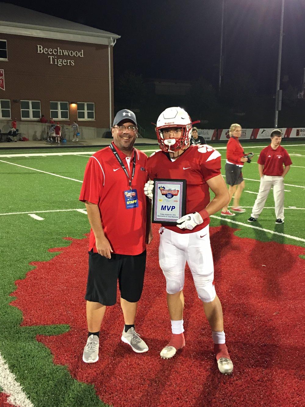 Beechwood MVP: Logan Castleman
