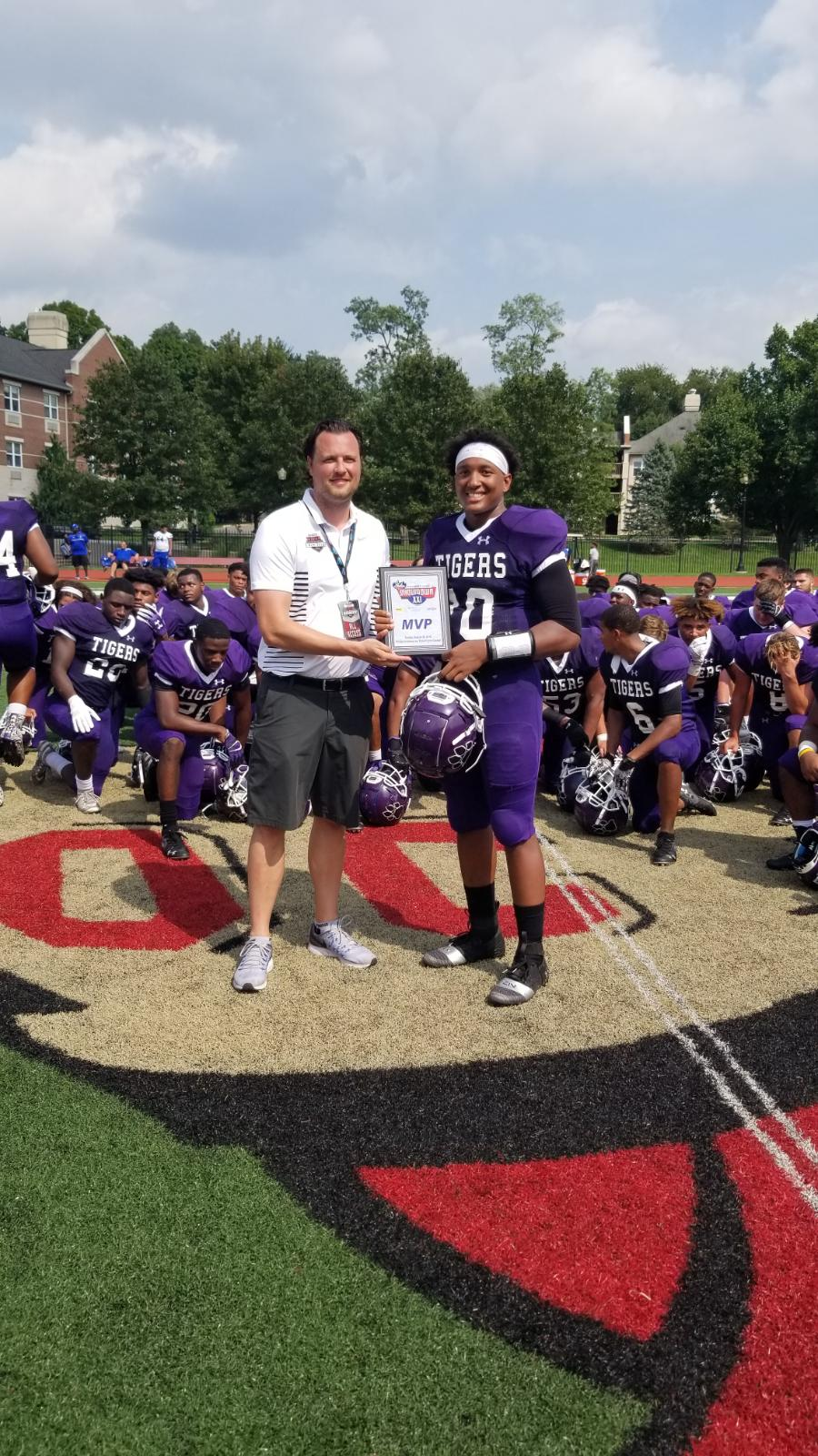 Pickerington Central MVP: Demeatric Crenshaw