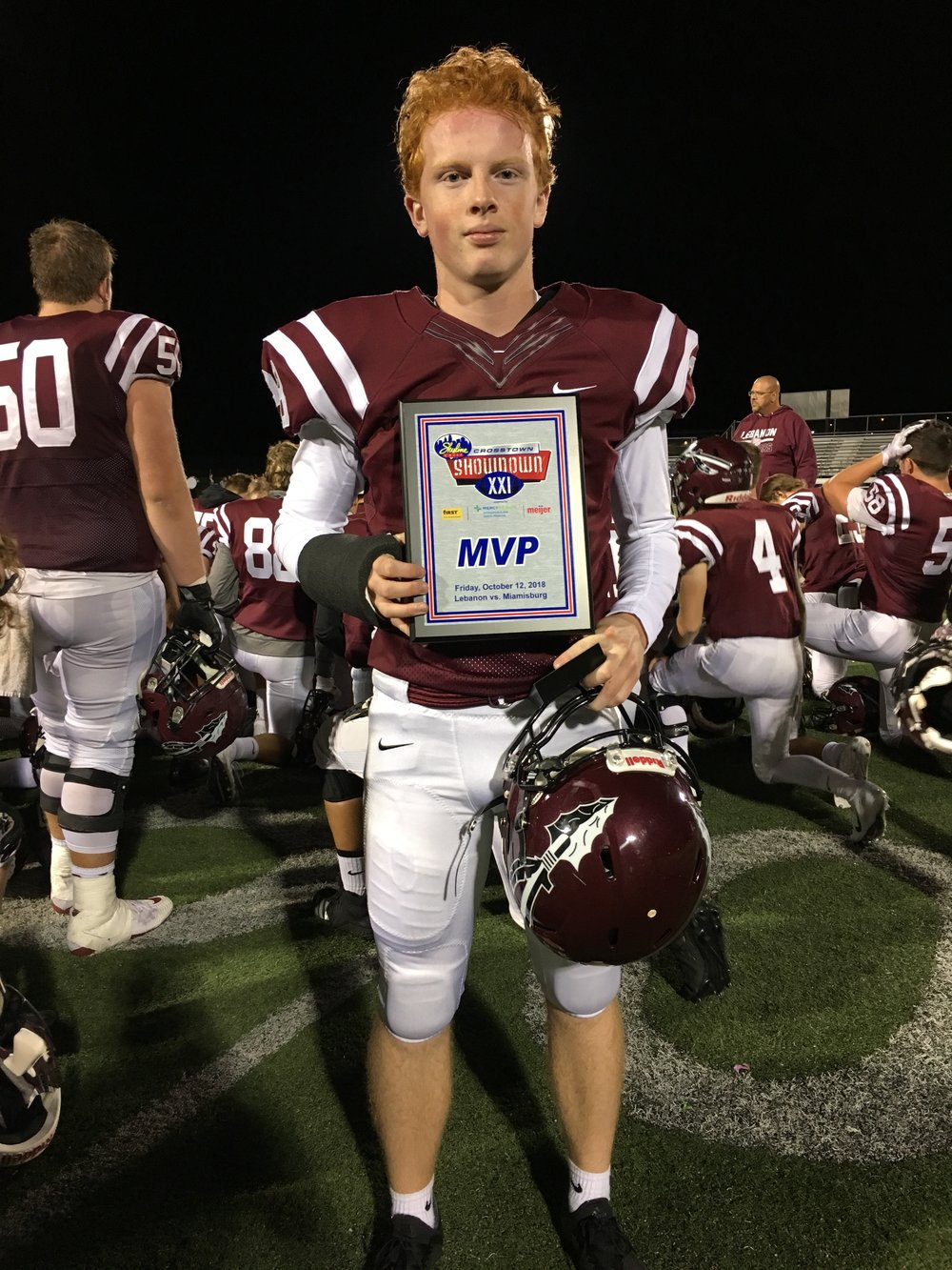 Lebanon MVP: Billy Crago