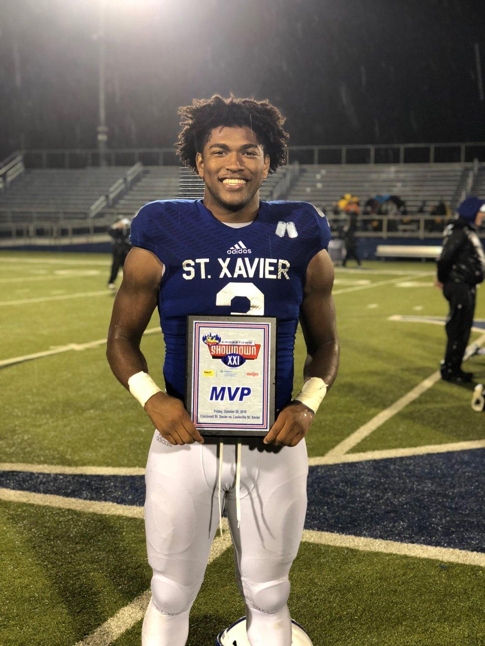 St. Xavier MVP: Chris Payne