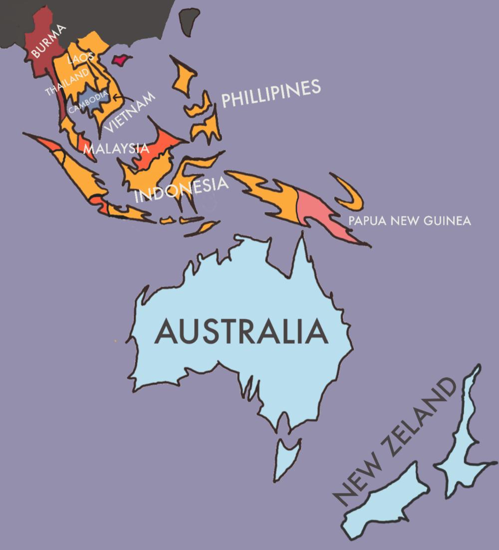 South East Asia & Australasia