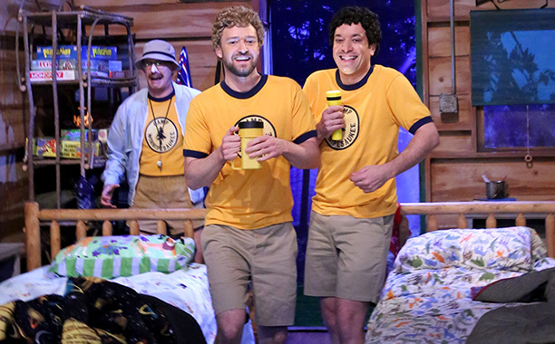 Justin Timberlake and Jimmy Fallon are the Definition of Best Friend Goals in Their Latest Skit