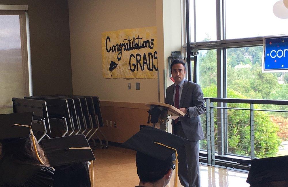 Graduation Speech - Speaking at Yellow Wood Academy Graduation